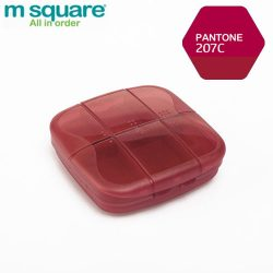 M SQUARE Pill Case (Red)